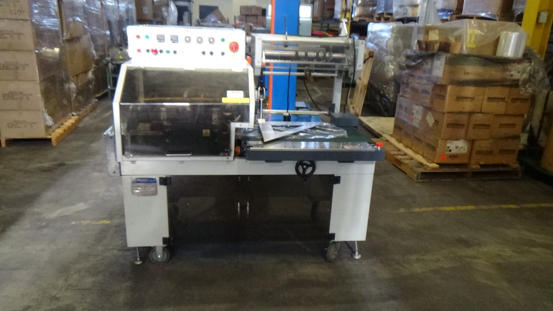 l sealer shrink wrap machine