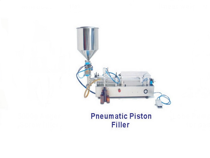Pro Pack Multi Head Scaling Systems - Pneumatic Piston Filler