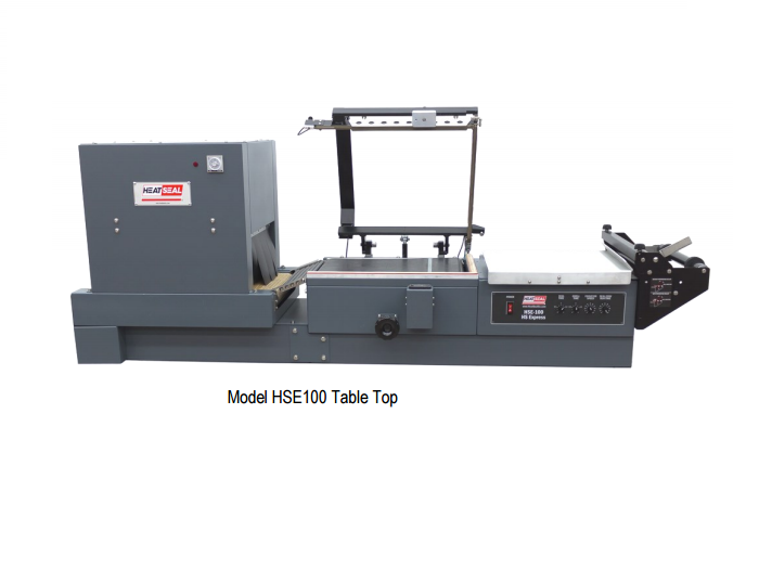 Heat Seal HSE100 Table Top Combo Shrink Wrappers